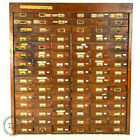 C  1910 Hardware Store Parts Cabinet