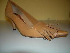 MAURO GRIFONI Damen Schuhe Pumps Leder Hellbraun Italy Gr.36 LP250€ f.Neuw