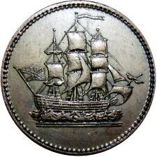 1815 Wellington Canada Token Sailing Ship Breton 1003