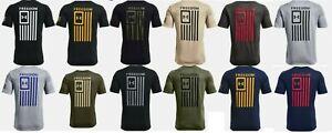 Under Armour Men's UA New Freedom Flag T-Shirt 1370810 NWT