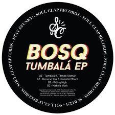 "Bosq - Tumbala EP (feat. Danielle Moore & Tempo Alomar) Green Vinyl 12"""