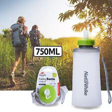 Naturehike Hiking 750ml Soft Folding Durable Eco-Friendly Foldable Water Bottle