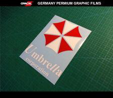 UMBRELLA CORPORATION BIOHAZARD Resident Evil Vinyl decal Sticker_170 mm x 225 mm