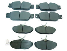 JAGUAR S TYPE 2.5 2.7 3.0 SPORT 2002-2005 FRONT & REAR BRAKE DISC PADS SET NEW