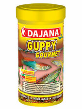 Dajana Guppy Gourmet Flake 100ml/20g, Fish Food intended for Guppies