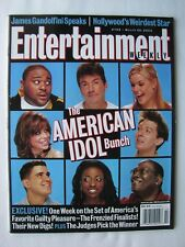 AMERICAN IDOL, CRISPIN GLOVER, VAUGHN MEADER, THE CORE 3/28/03 Entertain.Wkly.VG
