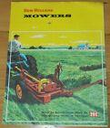 Advertisement Flyer New Holland Mowers Model 44, 45 & 46