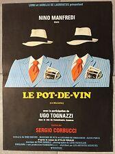 Plakat Le Kanne Wein Sergio Corbucci Nino Manfredi Ugo Tognazzi 40x60cm