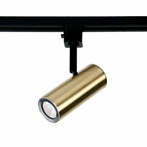 WAC Lighting H-2010-930-BR LED2010 Silo X10 Head in Brushed Brass for H Track...