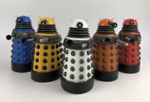 "Doctor Who - Dalek Paradigm Set - inc White Supreme 5"" figure Character Options"