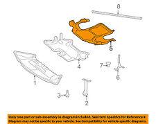 Mercedes MERCEDES-BENZ OEM 14-16 E350 Splash Shield-Rear Deflector 2045243330