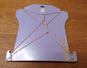 Body Chains with Sparkle Detail