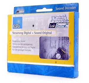 ESU LOKSOUND 82429-21 SWD Q1 2 CYL STEAM VERSION 4 SOUND DECODER