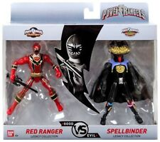 New 2018 POWER RANGERS RED & SPELLBINDER GOOD vs EVIL THE LEGACY COLLECTION