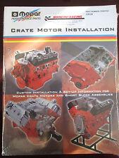 NOS MoPar Performance P5007521 Crate Motor Installation Factory Manual Plymouth
