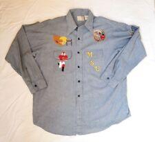 Vintage Buckhide MSU Montana Football 1976 NCAA Championship Embroidered Shirt
