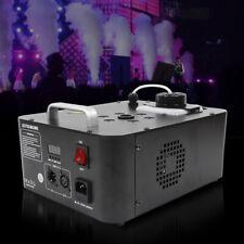 DJ Geyser Vertical Pyrotechnic-Like Fog Machine Fogger with 6 RGBW LED 8,000 cfm