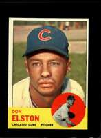 1963 TOPPS #515 DON ELSTON NM CUBS  *XR19764