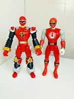 Power Rangers Dino Thunder Ninja Storm Red Ranger 2002 2003 Action Figure Toy