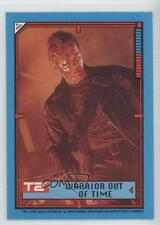 1991 Topps Terminator 2: Judgement Day Stickers #30 Warrior Out of Time Card 0c3