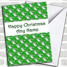 Green Angels Noël personnalisées carte personnalisé