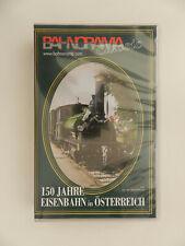 VHS Video Kassette 150 Jahre Eisenbahn in Österreich Bahnorama