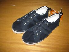 Boy BROWN FAUX SUEDE CASUAL DRESSY Sneakers Shoes NWT 11 12