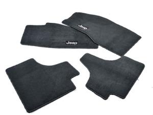 08-10 Jeep Liberty New Premium Carpet Floor Mats Set of 4 Slate Gray Mopar Oem
