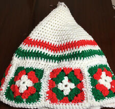 Handmade Crochet Christmas Tree Skirt Granny Square 35�