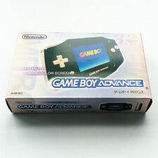 Black Console Box Package Instructions For Nintendo Game Boy Advance GBA
