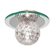 Artículos de iluminación de techo de interior transparentes de vidrio 1-3 luces