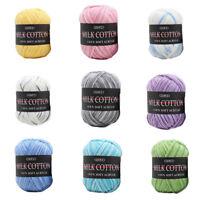 Mixed Job Lot knitting Crochet Milk Soft Baby Cotton Wool Yarn Hot Sale Pretty