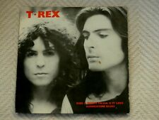 "T Rex - Ride a White Swan : 3 Track 7"" Single : Picture  Sleeve / Solid Centre"