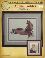 THE EAGLE ~ ANIMAL PROFILES - CROSS MY HEART cross stitch