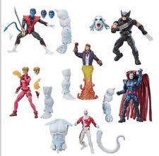 Marvel Legends X-Force Wave Wendigo BAF Set Of 6 Nightcrawler Dinged Box