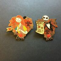 Valentine's Day 2010 - Jack and Sally Limited Edition 2000 Set Disney Pin 74586