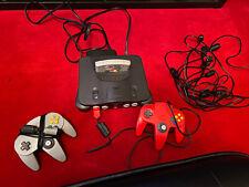 Nintendo 64 Konsole mit 2 Controller 4 Verlängerungskabeln Mario 64
