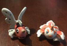Pokemon TOMY CGTSJ PVC Figure Lot Goldeen #118 & Seaking #119