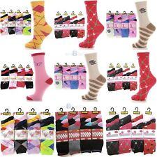 Ladies 3 Pairs Socks Women's Cotton mix Thermal & Non, size 4-6