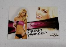 2011 Bench Warmer Bubble Gum Autographs #A42 Trashell Thompson