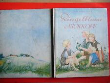"""Bilderbuch: Blum Lisa Marie: """" Ringelblume Nickkopf """" 1. Auflage 1949"""
