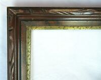 "Antique Fits 10"" x 14"" Eastlake Wood Picture Frame Country Primitive Victorian"