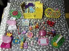 Large Peppa Pig Bundle including House, Figures, Grandpa's Train & More...