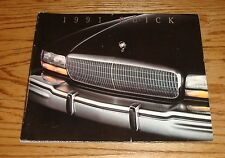 Original 1991 Buick Full Line Deluxe Sales Brochure 91 Park Avenue Regal LeSabre
