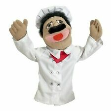 Melissa & Doug Chef Puppet with Detachable Wooden Rod for Kids