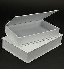 Klappdeckel-Boxen 2 Stück in Buchform Pappschachteln folia-Paper Bringmann 3313