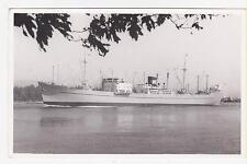 RPPC,S.S.Bonneville,Feighter,K-Line,Used,Naisipit-Agusan,Philippines Stamp,1965