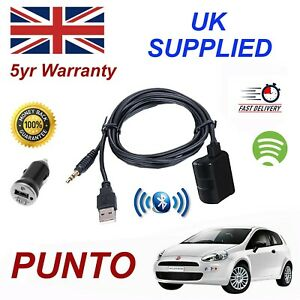 Fiat PUNTO Bluetooth Music Streaming Module & 1.0A Power Adapter For Samsung HT