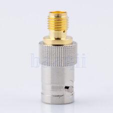 SMA À BNC SMA-F vers BNC-F Adaptateur Adaptor Connector pr BaoFeng UV-5R UV5R HG