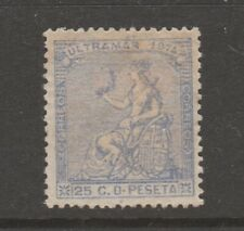 Colonies Spain Postal stamp 5-14-20 gum on front and back Mnh - Odd